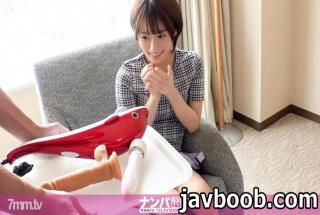 Nampa TV 200GANA-2326 Seriously first shot. 1518 A boyish girl I met in Akihabara was brought to a h