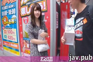 Nampa TV 200GANA-2350 Seriously Nampa, first shot. 1525 Get a beautiful girl by spinning the gacha i