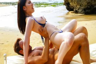 Outdoor Asian creampie with Sofia Takigawa - JavHD