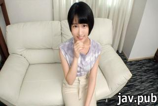 Amateur TV SIRO-4214 First shot Simple girl vs Chara man Shivering small ass .. A quiet female colle