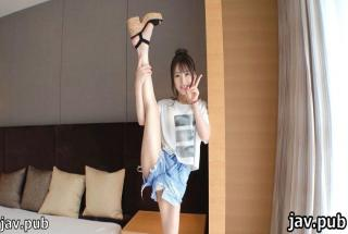Amateur TV SIRO-4301 First shot Height 150 cm Tongue tech exchange Active sex of former rhythmic gym