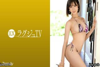 Luxury TV 259LUXU-1330 Luxury TV 1320 The dental hygienist Momoka Aoi, who was captivated by men in